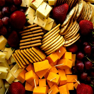 5 Cheese & Fruit Tray