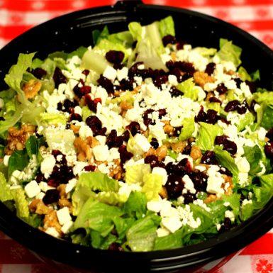 Cranberry feta salad