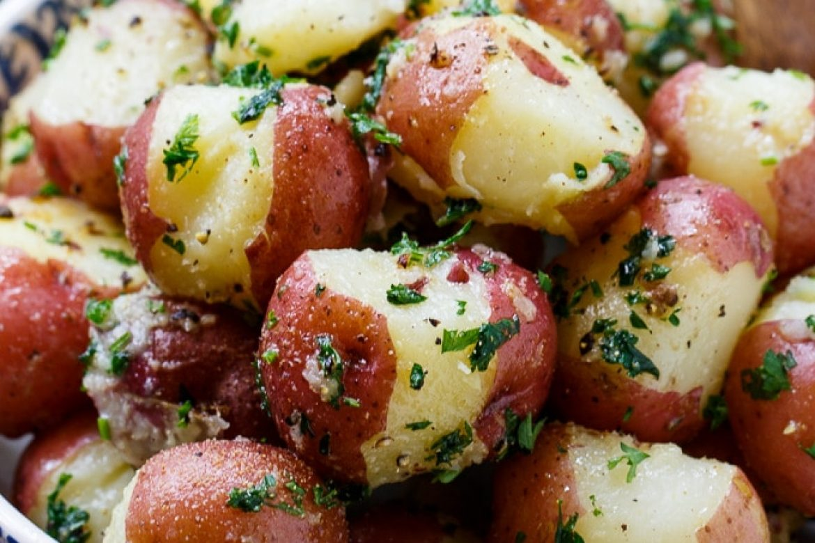 Boiled Red Bliss Potatoes