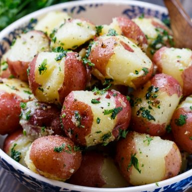 10 Boiled Red Bliss Potatoes