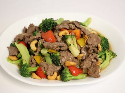 13 Beef broccoli red pepper