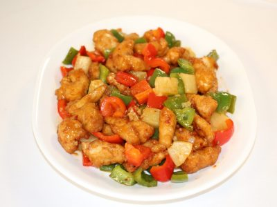 2 Sweet and Sour Chicken