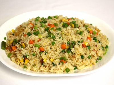 3 Vegetable fried rice