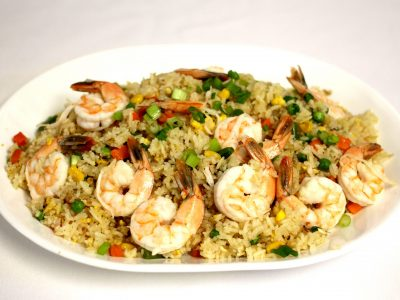4 Shrimp fried rice