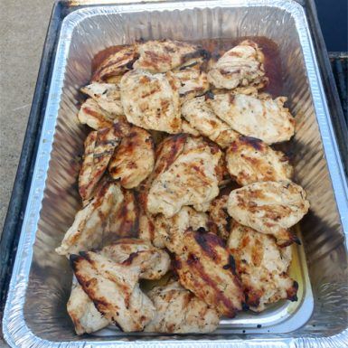 6 Grilled Marinated Chicken Breast