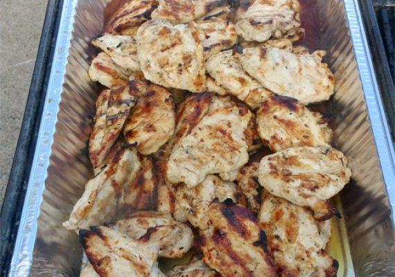 Grilled Marinated Chicken Breast