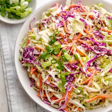 BOWLS – Homemade Coleslaw