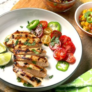 Grilled Sliced Chicken