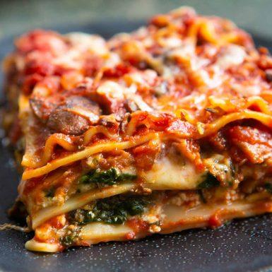 Meat or Vegetable Lasagna