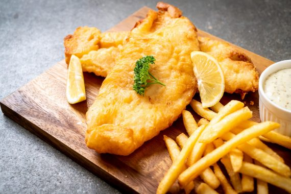 Haddock Fish & Chips