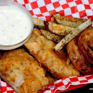 Haddock Fish & Onion Rings